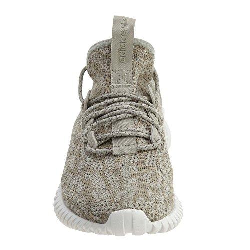 Adidas Mens Tubular Doom Sock Pk Originale Scarpa Da Running Sesamo / Sesamo