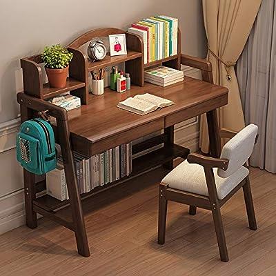 Conjunto de silla de mesa para niños Escritorio de madera de ...