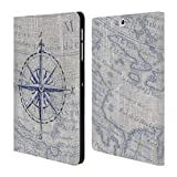 galaxy s2 vintage case - Official Paul Brent Vintage Compass Nautical Leather Book Wallet Case Cover for Samsung Galaxy Tab S2 9.7
