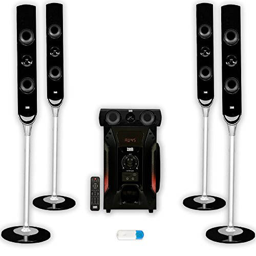 acoustic-audio-aat1000-tower-51-home-speaker-system-with-bluetooth-1000w-8-powered-sub-aat1000u