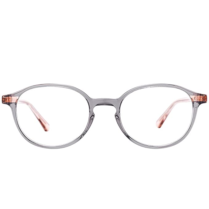 d692f21ff92 Amazon.com  Etnia Barcelona Anvers GYPK Grey Pink Plastic Round Eyeglasses  48mm  Clothing