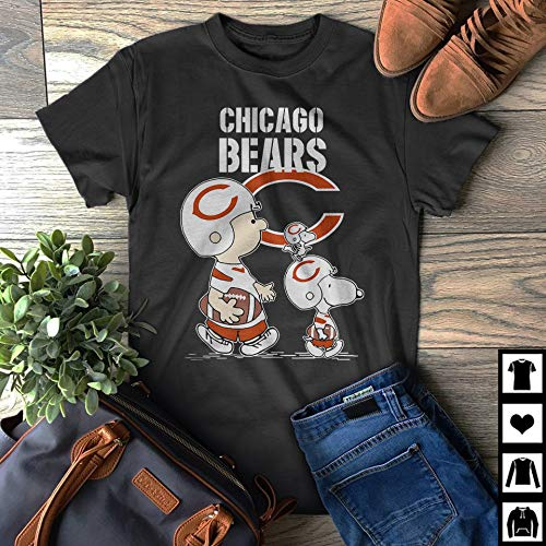 buy online 7bfd1 9eabd Amazon.com: Chicago-Bears Let's Play Football Together ...