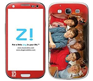Zing Revolution One Direction Premium Vinyl Adhesive Skin for Samsung Galaxy S 3, 1D Boys Image, MS-1D10415