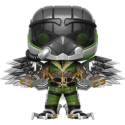 Funko Marvel: Spider-Man Homecoming - Vulture Pop! Vinyl Figure (Includes Compatible Pop Box Protector Case): Toys & Games