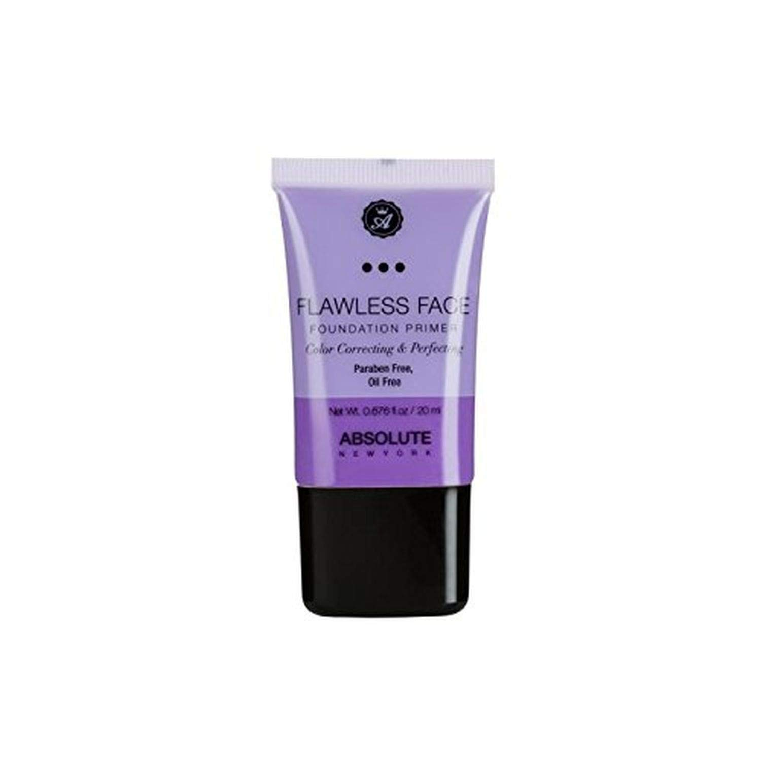 Absolute New York Flawless Face Foundation Primer, Lavender, 20ml
