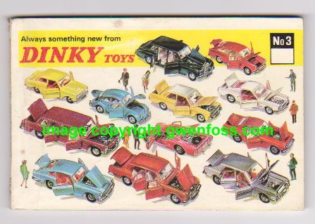 Meccano Dinky Toys - Dinky Toy Catalog No. 3 : Number 3, 1967