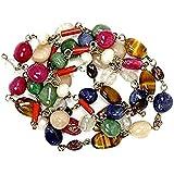 Ankita Gemstones Navratan Navgrah 9 Gems Stones Mala