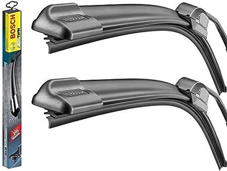 Limpiaparabrisas Aerotwin Bosch Serie 3 E46 (1998 - 2005) completo con líquido lavaparabrisas.: Amazon.es: Coche y moto