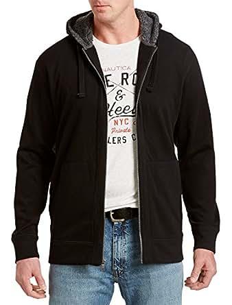 Nautica Big & Tall Active Full-Zip Fleece Jacket (5XL, Black)
