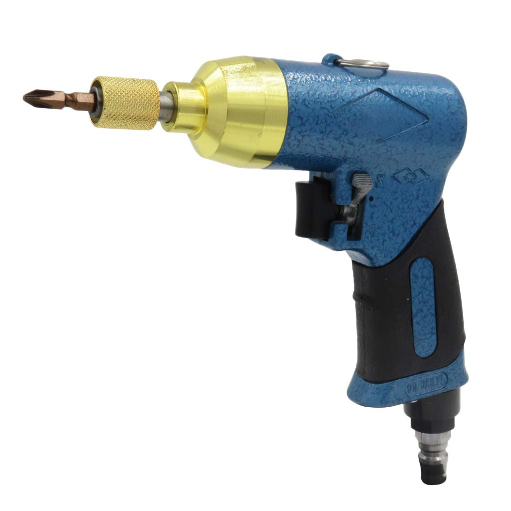 CUTICATE Pneumatic 1/4 inch Hex Air Impact Screwdriver