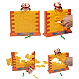 Interactive Humpty Dumpty's Wall Game 3D Plastic Parent-Child Family Game Ideal for Christmas Gifts Birthday Gifts Party Games Kids Toys Gifts