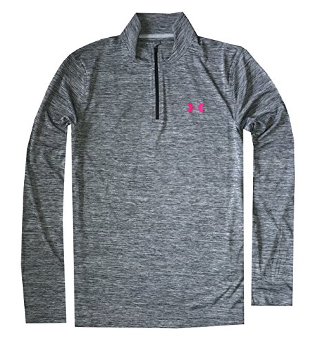 Under Armour Men UA Tech 1/4 Zip Lightweight Long Sleeve T-Shirt (XL, Graphite)