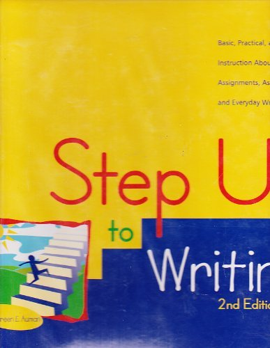 Step Up To Writing 2nd Edition Teacher's Manual (The Language Of Composition 2nd Edition Teachers Manual)