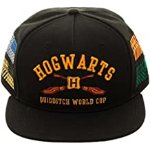 Official Harry Potter Hogwarts Quidditch World Cup Patches Snapback Hat Cap