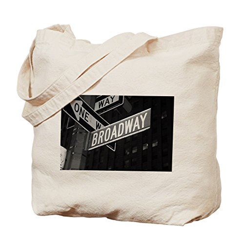 CafePress - Broadway - Natural Canvas Tote Bag, Cloth Shopping - Nyc Shopping Broadway