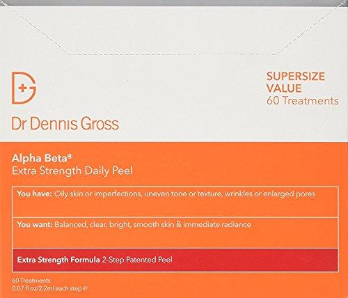 Dr. Dennis Gross Skincare Alpha Beta Peel, Extra Strength, 60 Count BOX by Dr. Dennis Gross Skincare