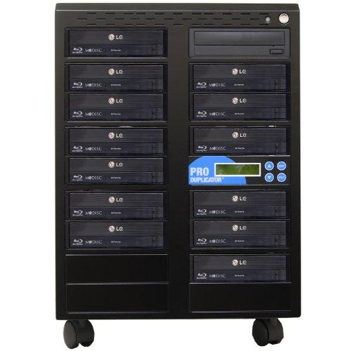 Produplicator 1 to 13 Blu-ray BD BDXL M-Disc CD DVD Duplicat