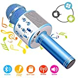 Best Bluetooth Microphones - Wireless Bluetooth Karaoke Microphone Machine,Portable Handheld Karaoke Bluetooth Review
