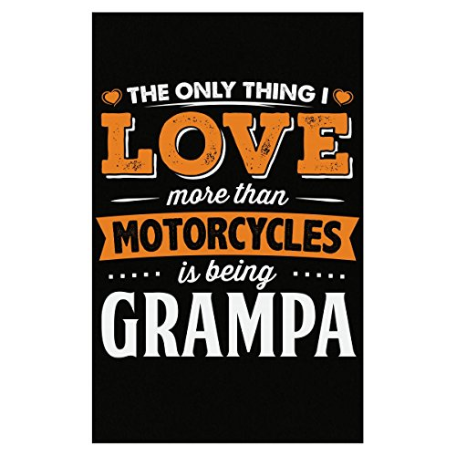 My Family Tee Love Being Grampa More Than Motorcycles Biker Gift - Poster
