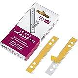 Veloflex 2003000 Lot de 50 bandes adhésives pour renforcement des perforations 105 x 15 mm (Import Allemagne)