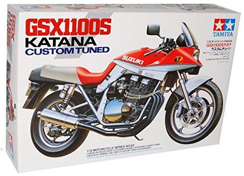 Suzuki Gsx1100 Gsx 1100 Katana Custom Tuned Bausatz Kit 1/12 Tamiya Modellmotorrad Modell Motorrad