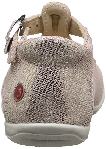 GBB Marie - Zapatos de primeros pasos Bebé-Niños Rosa - Rose (47 Crt Rose/Or Dpf/Kezia)