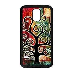 Personalized Fantastic Skin Durable Rubber Material Samsung Galaxy s5 Case - Tree of Life
