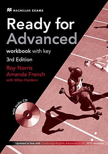 Ready for Advanced (CAE) (3rd Ed) Workbook with Key & Workbook Audio CD PDF