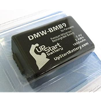 Panasonic DMW-BMB9 Digital Camera Battery Replacement (1000mAh, 7.4V, Lithium-Ion) - Compatible with Panasonic Lumix DMC-FZ70 Battery
