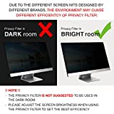 22 Inch Privacy Screen Filter for Widescreen
