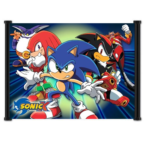 Sonic X Anime Fabric Wall Scroll Poster  Inches -Sonic X-10