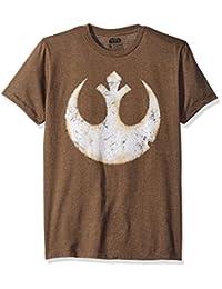 STAR WARS Mens Alliance Emblem Symbol Premium Graphic T-Shirt T-Shirt