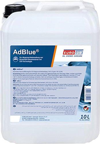 EUROLUB ADBLUE synthetischer Harnstoff, 10 Liter EUROLUB GmbH 845010