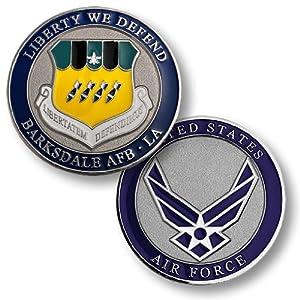 Barksdale Air Force Base, LA Challenge Coin