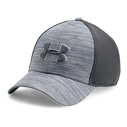 Under Armour Men's Golf Mesh Stretch 2.0 Cap, Overcast Gray/Overcast Gray, Large/X-Large