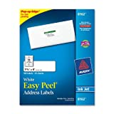 Avery 8162 White ink jet mailing labels, 1-1/3 x 4, 350 per pack, Office Central