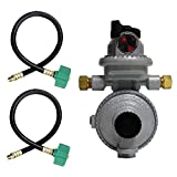 propane auto change regulator - Fairview RV Camper LP Propane 2 Stage Automatic Regulator with 2 x 15