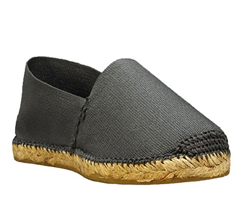 DIEGOS Spain Men's Espadrilles Grey Hand in Women's Made SrpqSx