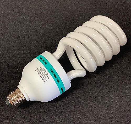 Professional Photography 60W Fluorescent Light by Fancierstudio - Compact 5500K Daylight Bulb