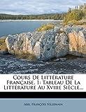 Cours de Littérature Française, Abel Francois Villemain, 1278266313