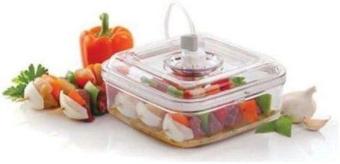 Oferta amazon: FoodSaver FSFSMA0050-060 Marinador rápido, Apto para frigorífico, 1 W, Plástico, Blanco