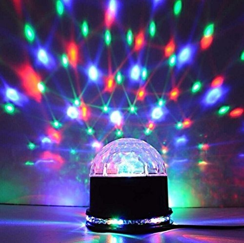 Fashion 51LED RGB DJ Club Disco KTV Party Magic Ball Crystal Effect Light Stage Lighting ()