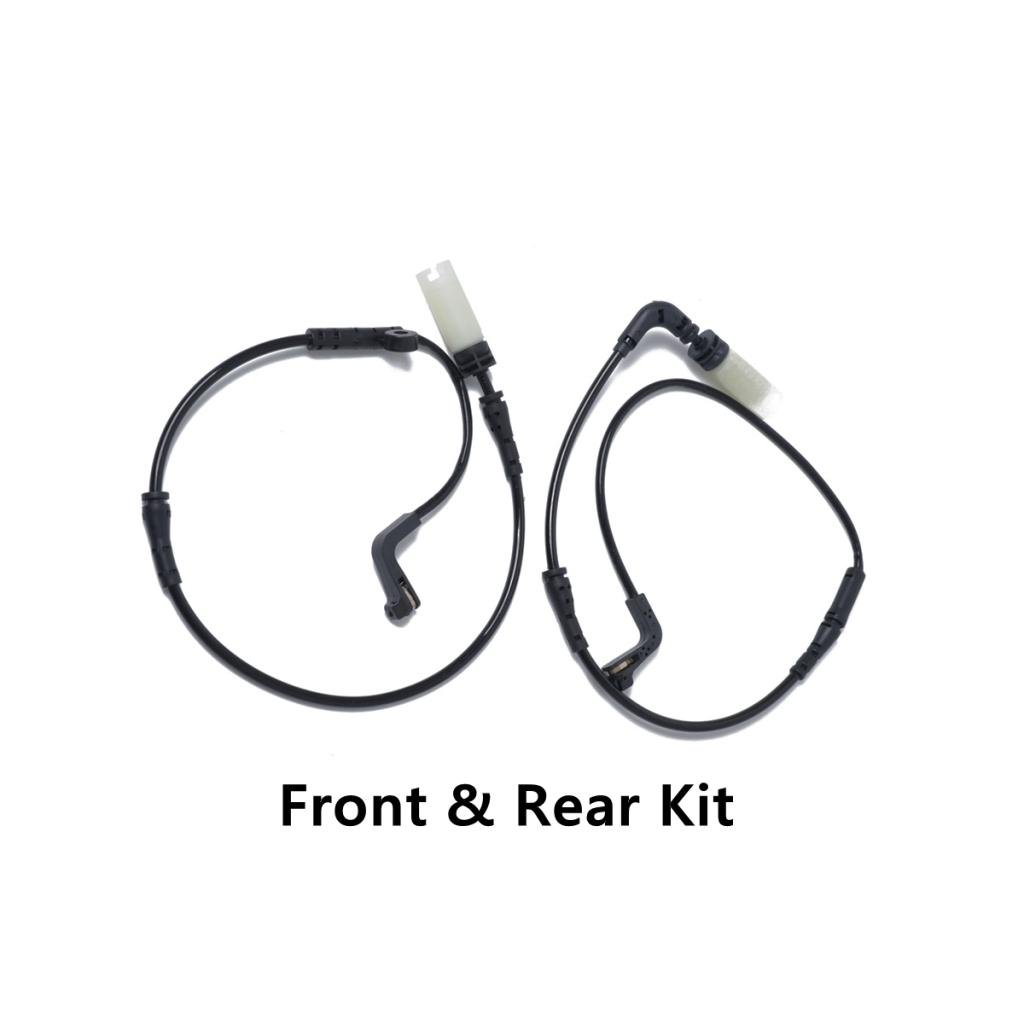 Baoblaze 1 Pair Auto Car Front+Rear Brake Pad Wear Sensors for BMW E60 E63 E64