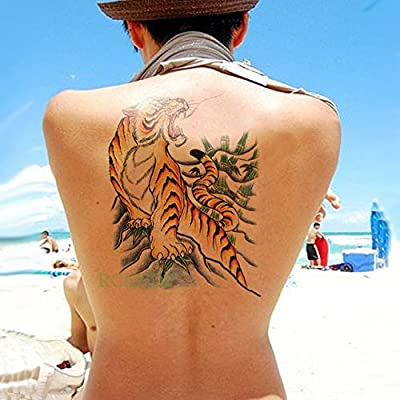4pcs Impermeable Etiqueta engomada del Tatuaje del ala del ángel ...