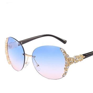 QDE Gafas de sol Gafas De Sol De Diamantes De Imitación para ...