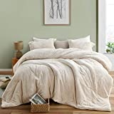 Byourbed Coma Inducer Oversized Queen Comforter - The Original Plush - Almond Milk