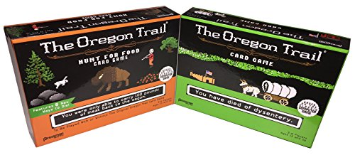 Oregon Trail and Oregon Trail: Hunt For Food Games, Bundle of 2 Items