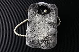 Shark? Great gift! Warm your hand in winter,Luxury soft fur case for Samsung Galaxy Note 2 N7100.(Great X'mas gift)