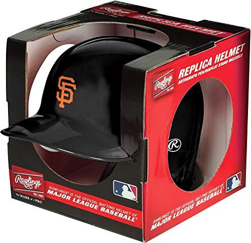 Rawlings MLB San Francisco Giants Mini Replica Helmet, Black ()