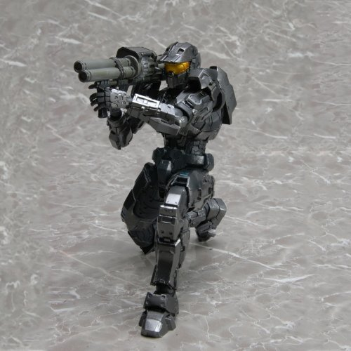 Spartan Mark - Square Enix Halo Reach Play Arts Kai Action Figure Black Spartan Mark V